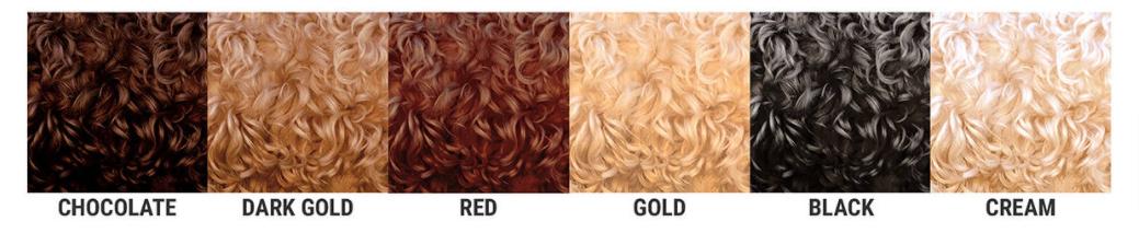 Tabela de cores da pelagem do Cobberdog Australiano